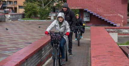 На велосипеде – в прошлое